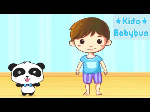 Baby Panda - Our Body Parts | Teach Children About Body Parts – Babybus Games for Kids