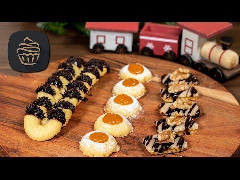 1-teig,-3-kekse-🍪---weihnachtsplätzchen-schnell-und-einfach