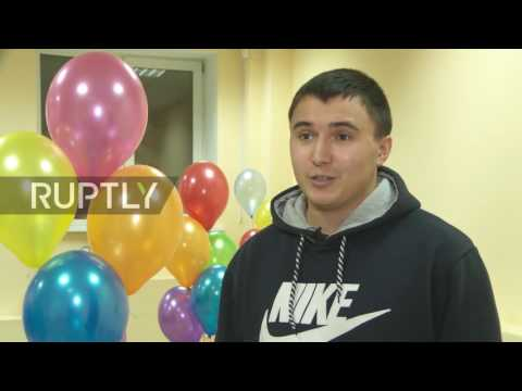 Russia: Adult kindergarten offers re-living 'childhood happiness' in Novosibirsk