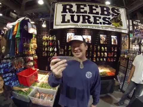 Reebs Lures presents his lineup of lures for saltwater bass