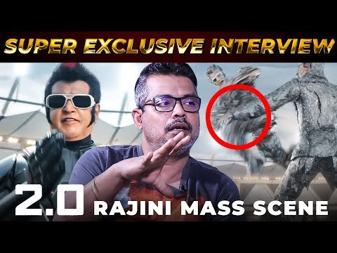 Thalaivar's Mass Punch Dialogue in 2.0 - Editor Anthony Reveals | Rajinikanth | Shankar | RS 75