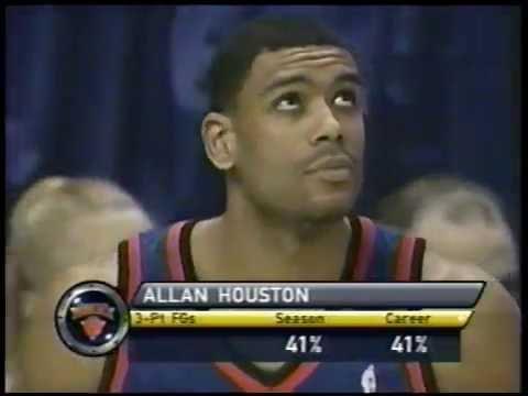 Allan Houston - 2001 NBA 3-Point Shootout (11 Points)