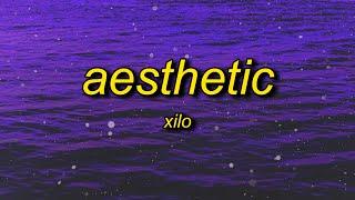 Xilo - Aesthetic (Lyrics)   i'm aesthetic and now i get it