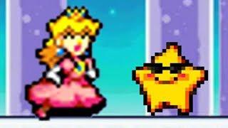 Super Princess Peach - All Starfish Locations