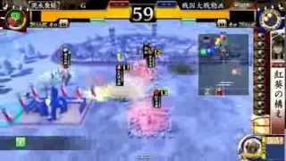 戦国大戦1477 Ver2.20B お転婆姫の声援vs剣抜弩張