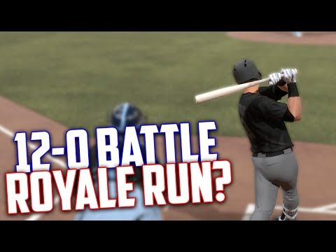 1 Win Off From 12-0! Win Or Choke?! MLB The Show 17 | Battle Royale