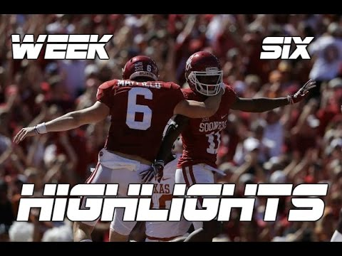 College Football Week Six Highlights 2016-17 ᴴᴰ