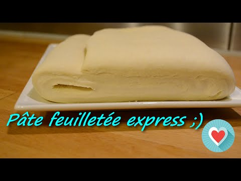 Pate Feuilletee Express Inratable Simple Et Rapide Youtube
