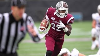 Fordham's Chase Edmonds discusses his progression from freshman year