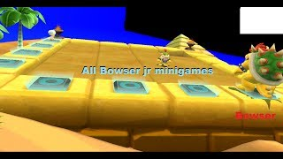 Mario Party 9 - All Bowser Jr Minigames [TAS] With Bowser