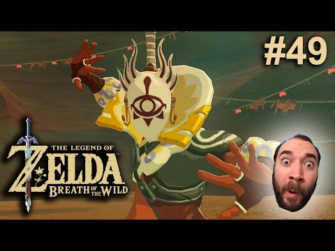 Zelda Breath of the Wild #49   Caught By The Yiga Leader?!