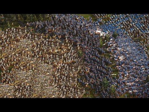 Cossacks 3 - 8P FFA ULTIMATE MASSIVE WAR | Multiplayer 4K Gameplay