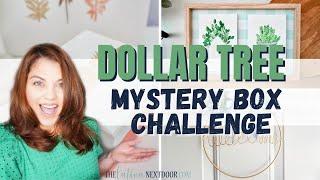THE MOST RANDOM DOLLAR TREE HOME DECOR DIYS EVER | Mystery Box Challenge