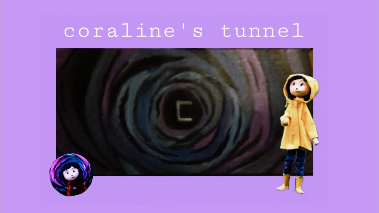 Painting The Tunnel From Coraline Youtube