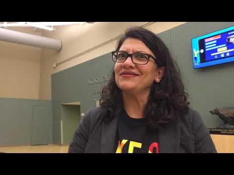 Rashida Tlaib says Trump attacks are racist lies