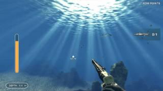 Depth Hunterr Catch 1 Baracuda Gameplay