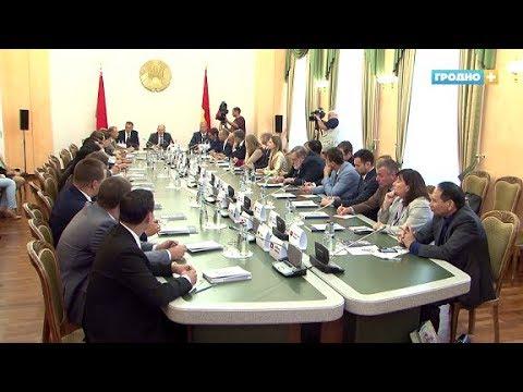 День торгового советника с участием дипломатов из 22 стран прошёл в Гродно