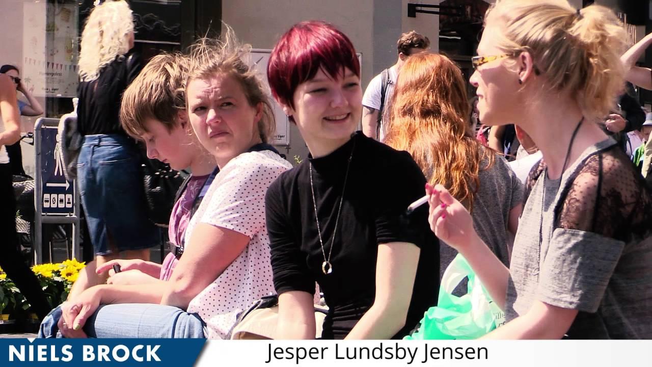 Jesper underviser i engelsk på Handelsgymnasiet JTP