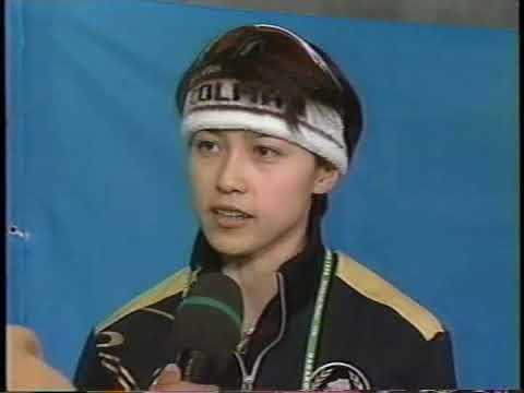 【1998年長野オリンピック】スピードスケート女子500m 岡崎朋美、島崎京子
