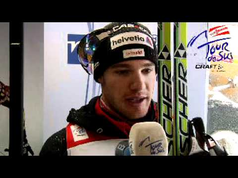Dario Cologna in Interview before stage 3