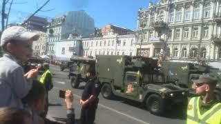 Военный парад в Киеве 24 августа 2018 года (Часть 2)