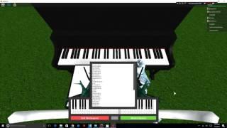 Virtual Piano ROBLOX Heathens | CarsonPanda