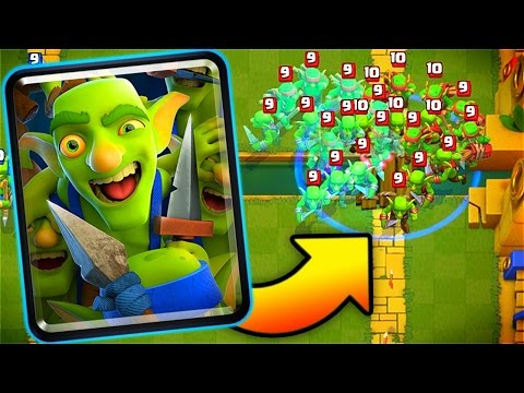 """New """"GOBLIN GANG"""" Gameplay // Clash Royale Update!"""