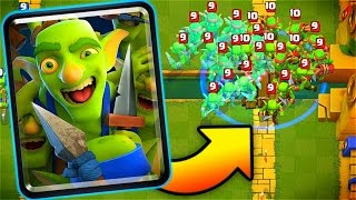 "New ""GOBLIN GANG"" Card // Clash Royale Update!"