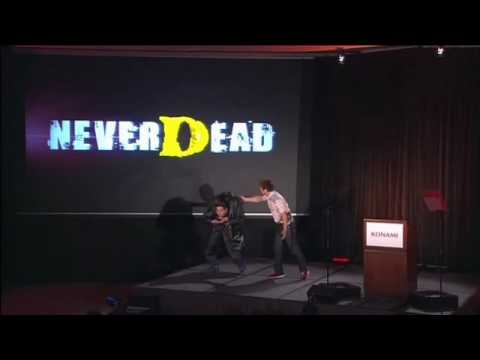 E3 2010 Konami - NeverDead - off with your head!