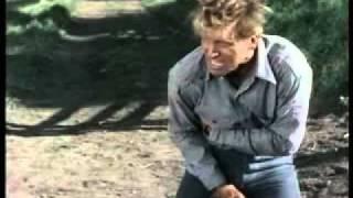 Burt Lancaster a puñetazo limpio en EL VALLE DE LA VENGANZA (Vengeance Valley, 1951: Cinetel)