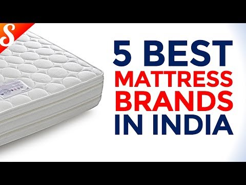 detailed look 4f771 76465 5 Best Mattress Brands in India - YouTube