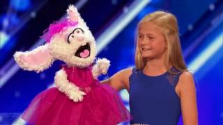 americas got talent 2017 darci lynne 12 year old singing ventriloquist full audition s12e01 youtu