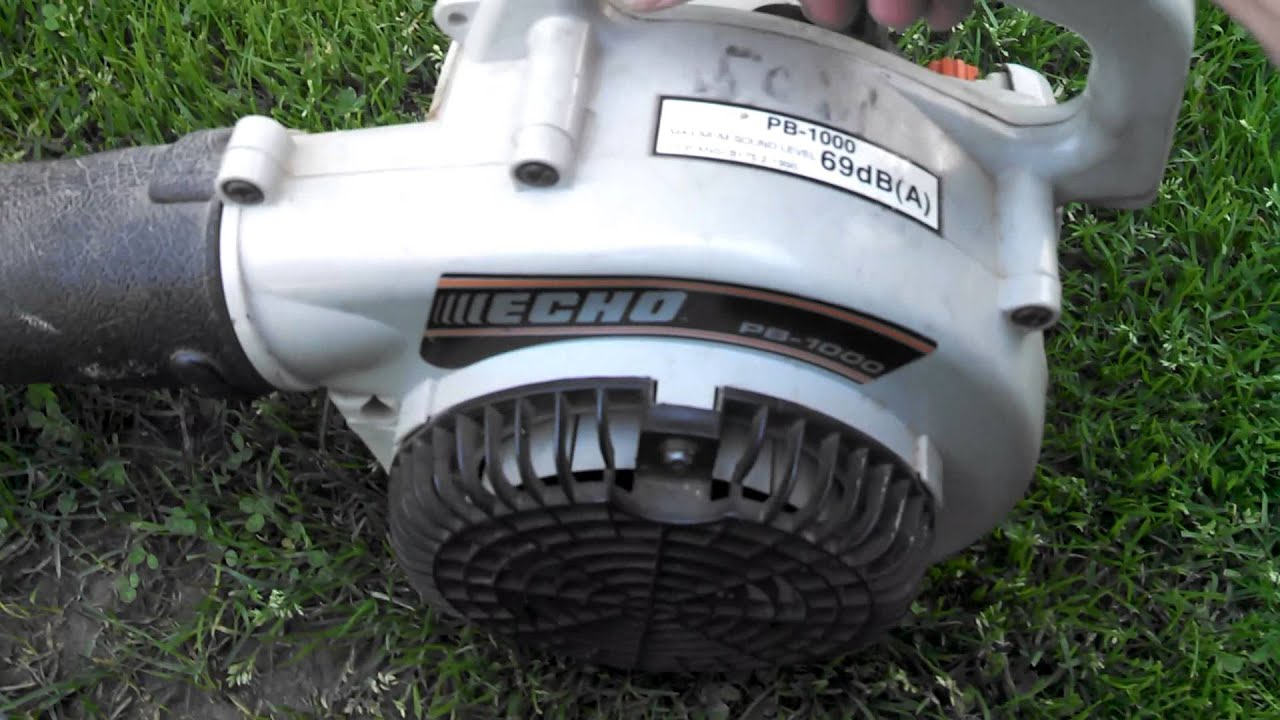 Echo Power Blower Pb 1000 : Echo pb leaf blower bucks youtube