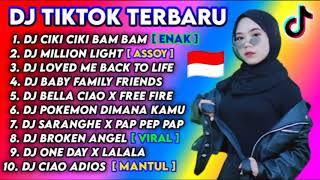 DJ TIKTOK VIRAL TERBARU 2020 CIKI CIKI BAM BAM MILLION LIGHT DJ REMIX FULL ALBUM TERBARU