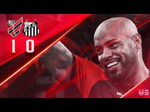 QUARTA SEGUIDA! Athletico Paranaense 1x0 Santos | MELHORES MOMENTOS