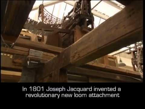 jacquard loom industrial design