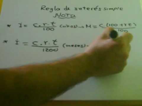 REGLA DE INTERES -NOTAS