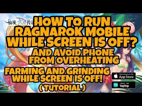 Ragnarok Mobile How To Run Rom While Screen Is Off Youtube