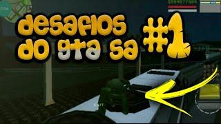 DESAFIOS GTA SA #1 - SURFEI NO TREM
