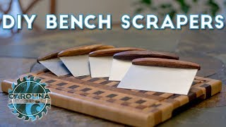 How to Make a Bench Scraper / Dough Knife | Woodworking / DIY