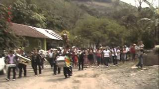 Tlacolula, Hgo. Continua la procesión de San Isidro Labrador