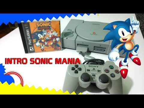 Sonic Mania Intro On PlayStation 1| Animated Opening