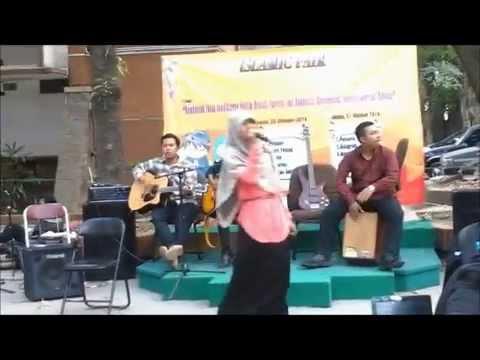 Edcoustic - Sebiru Hari Ini (Cover Bandem Sepatu feat Azizah Niswahtun) HD