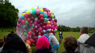Balloon Release by MnM Balloons Leicester
