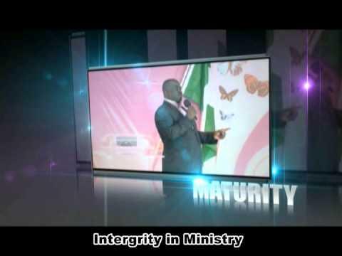 Pastor Olumide Emmanuel - Promo - INTERGRITY IN MINISTRY