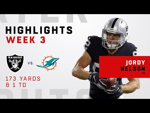 Jordy Nelson Can't Be Stopped w/ 173 Yards & 1 TD vs. Miami!