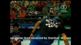Badminton 2006 Malaysia Open MS Final [Lin Dan vs Lee Chong Wei]