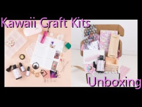 Kawaii Craft Kits Unboxing - Resin- Diamond in the Rough
