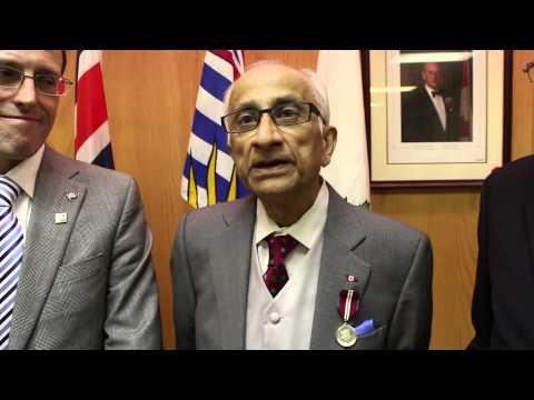 Queen's Diamond Jubilee Ceremony West Vancouver