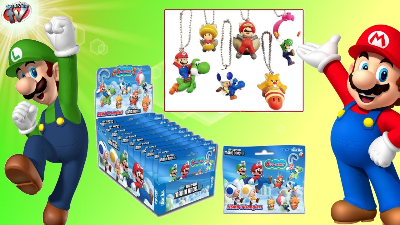 21e01f2329 Super Mario Bros U Danglers Blind Bags Toy Review   opening